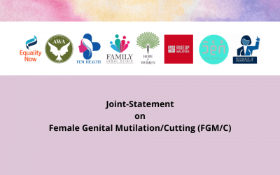 Joint Statement On Female Genital Mutilation/Cutting